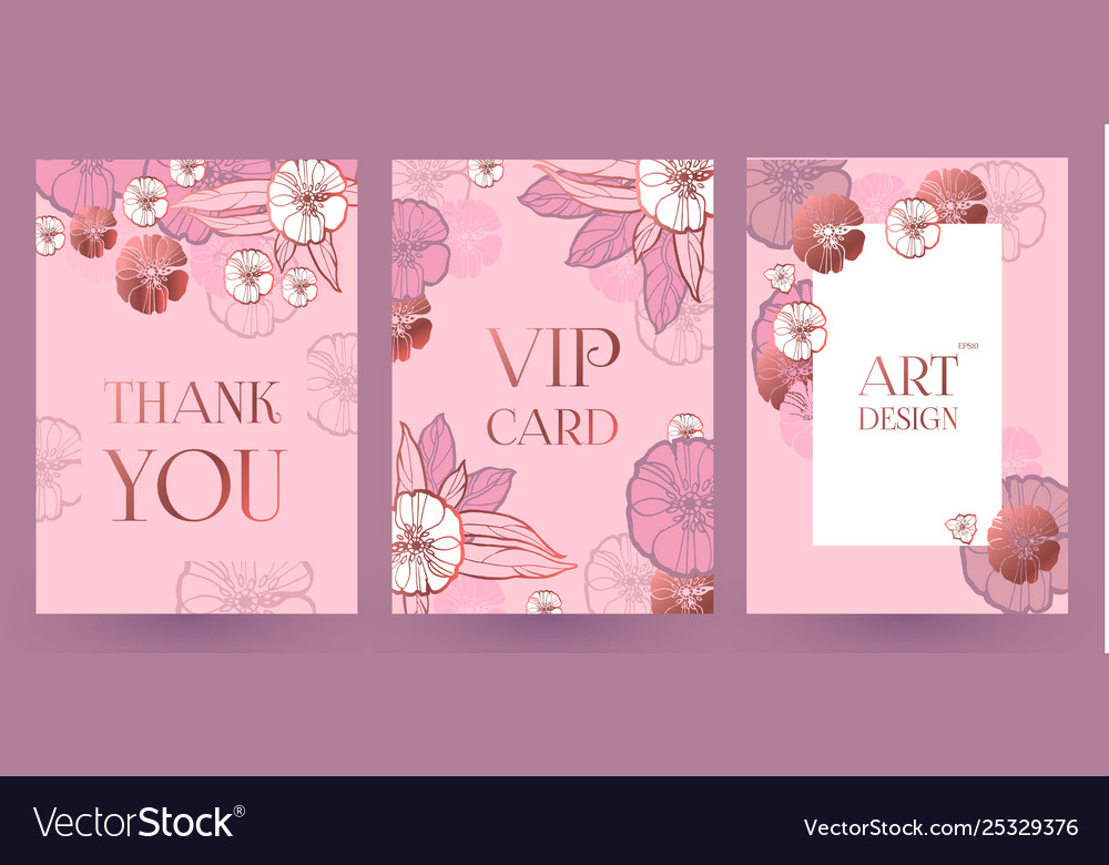 Flower card or cover set wedding anniversary