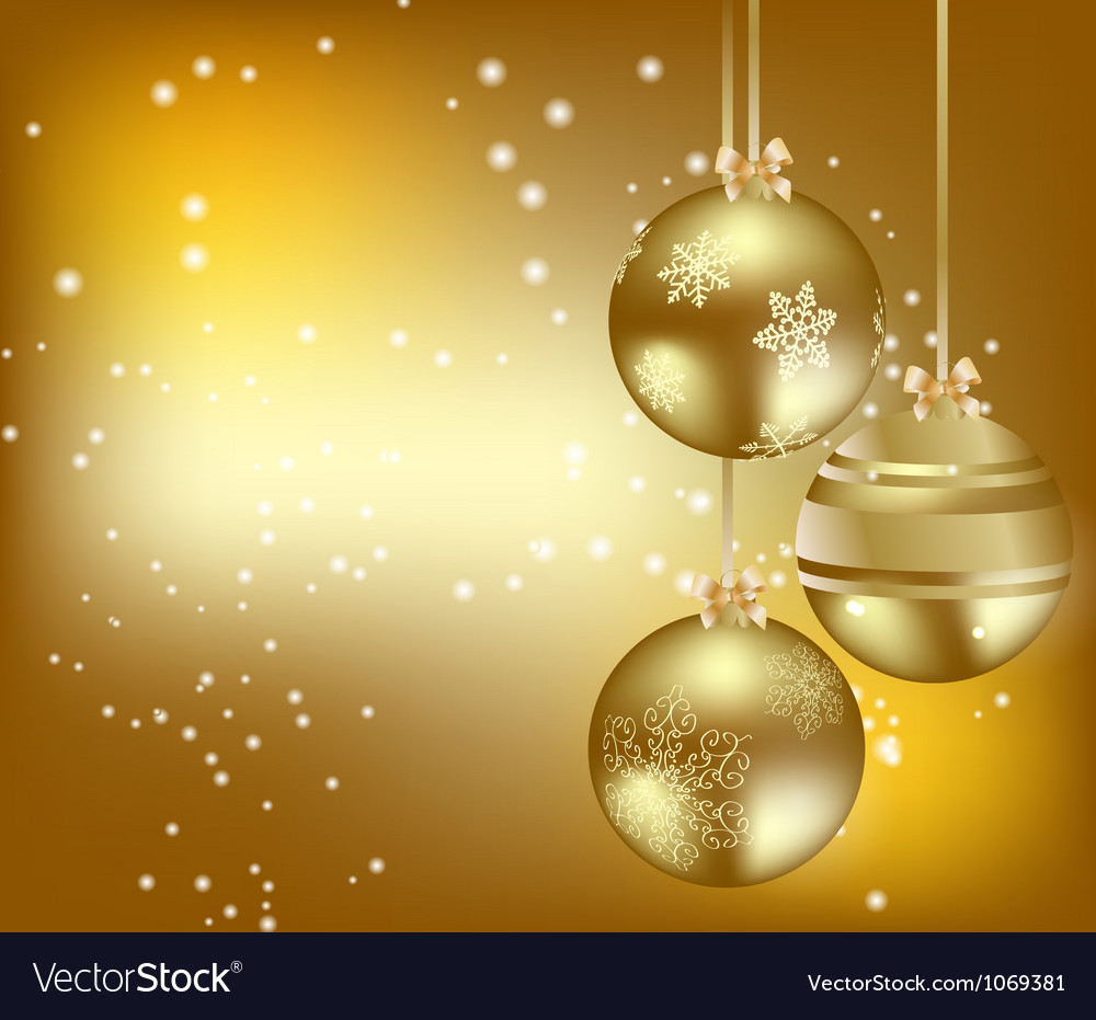 elegant christmas background vector image - Elegant Christmas
