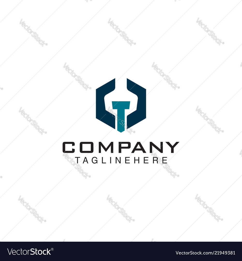 Mechanical logo wrench bolt logo