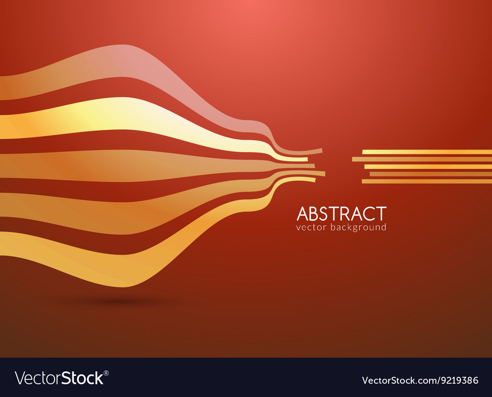 Abstract curve lines background for