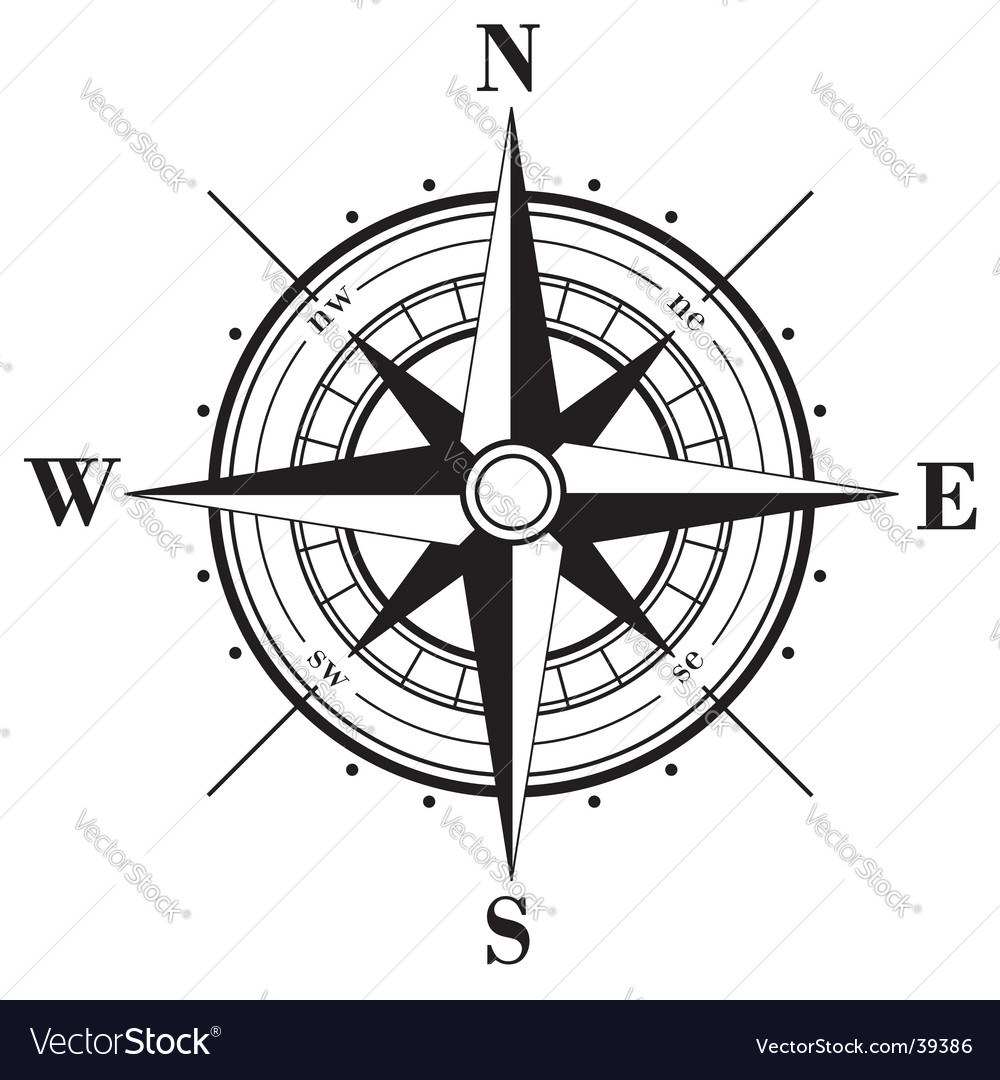 compass rose royalty free vector image vectorstock rh vectorstock com compass rose vector download free compass rose vector file