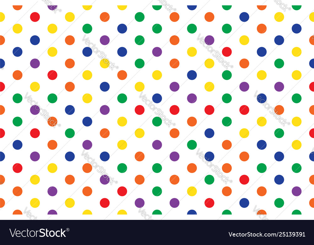 Circle pattern multi color abstract seamless