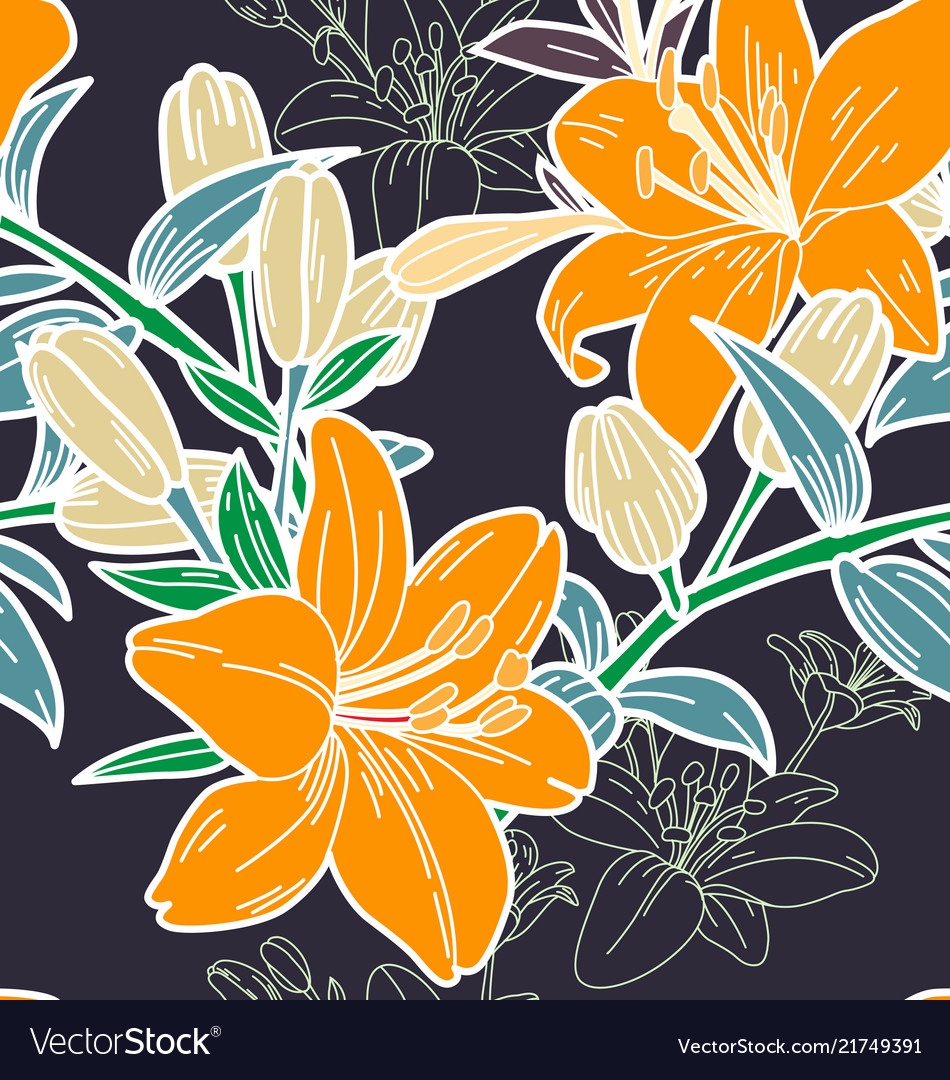 Floral seamless pattern3
