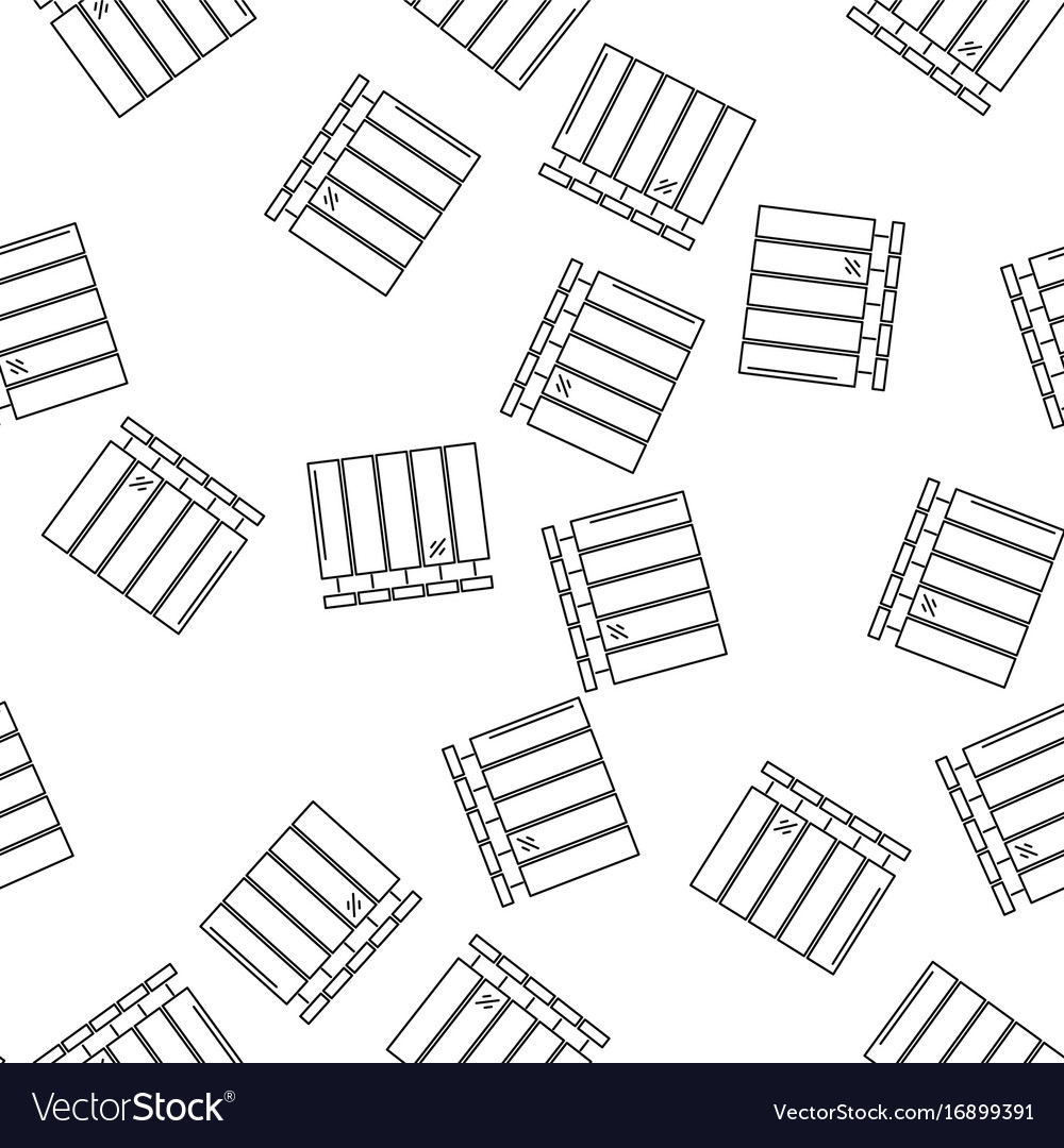 House heating seamless pattern
