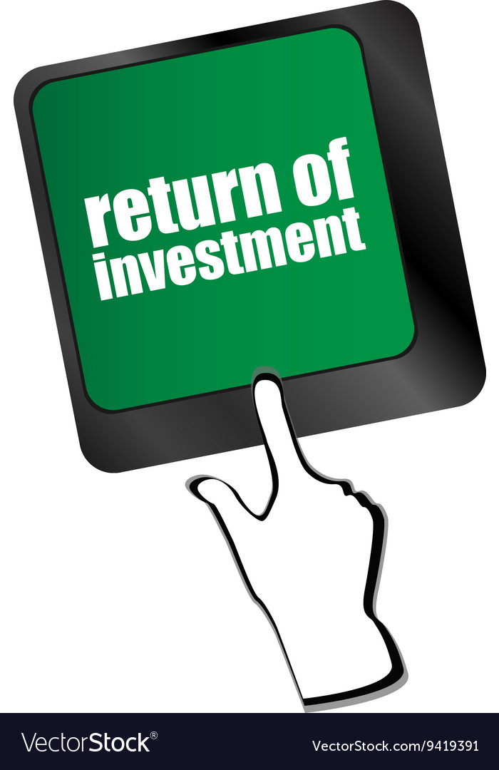 Invest or investing concepts with a message on