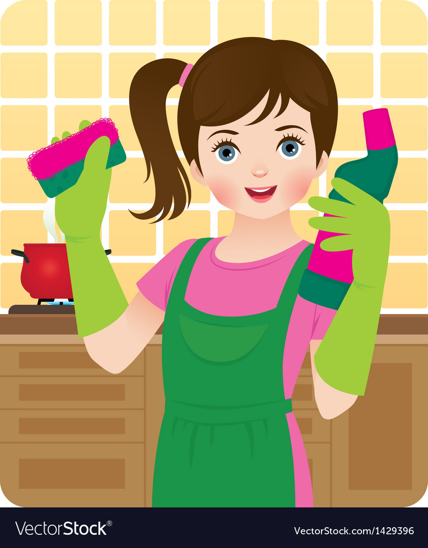 Girl, Kid, Washing & Hands Vector Images (47)