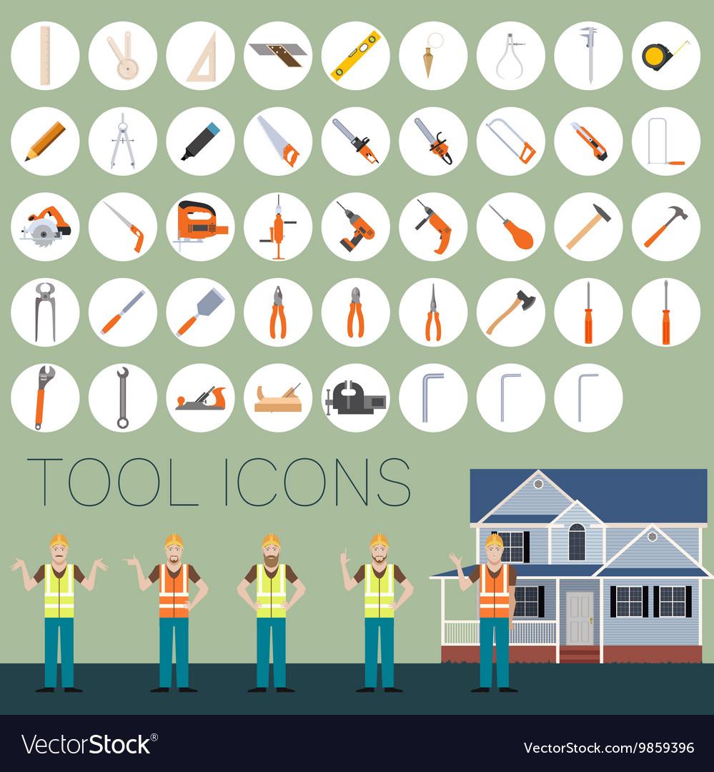 Repair tool icons