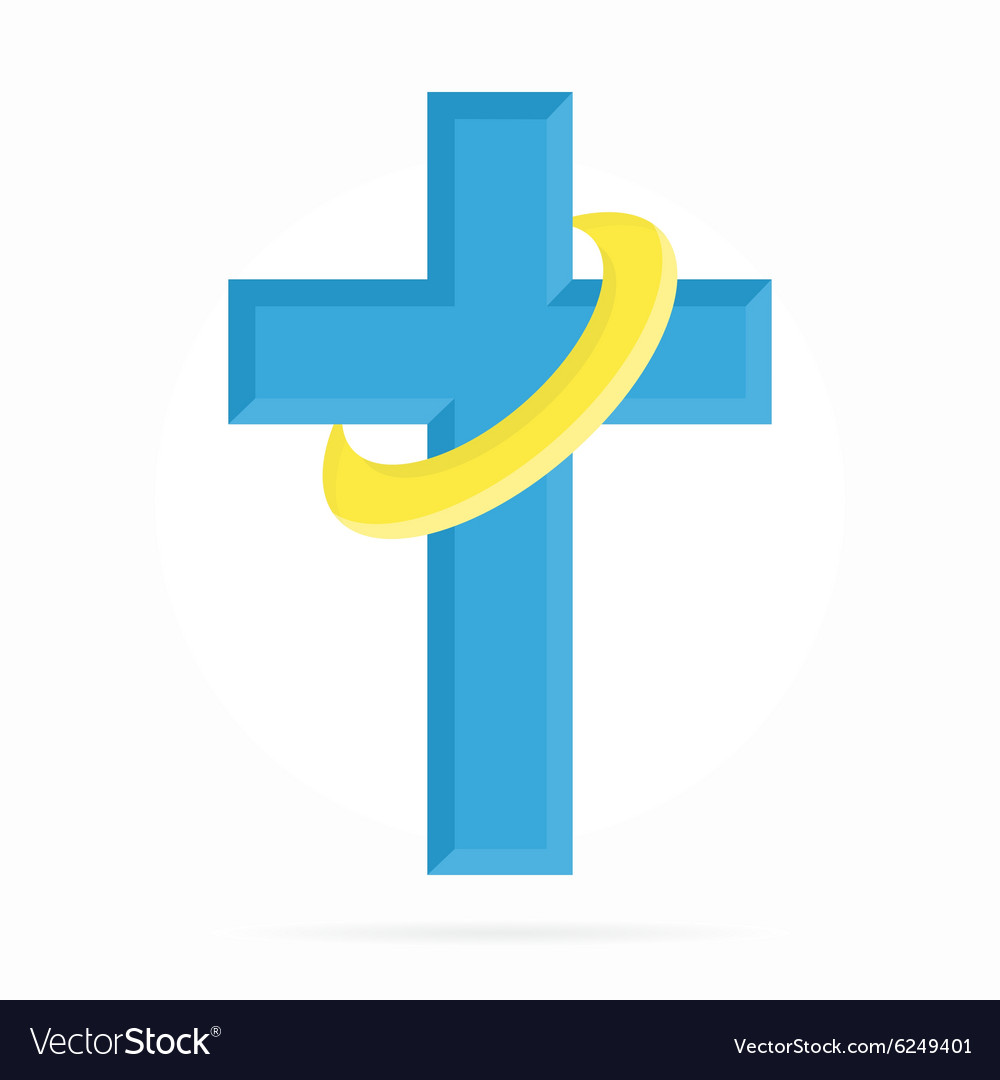 Logo for churches and Christian vector image
