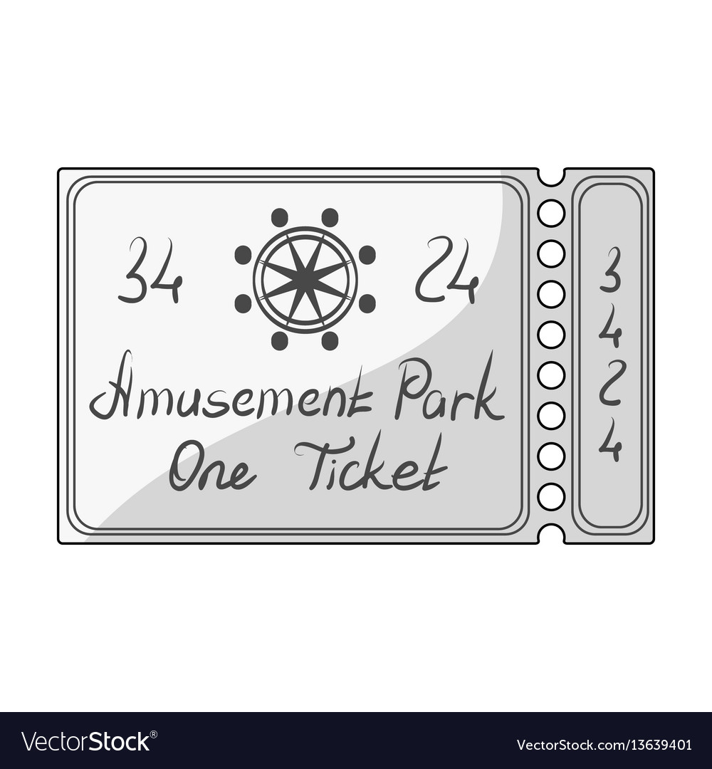 Ticket for passage to the territory of the