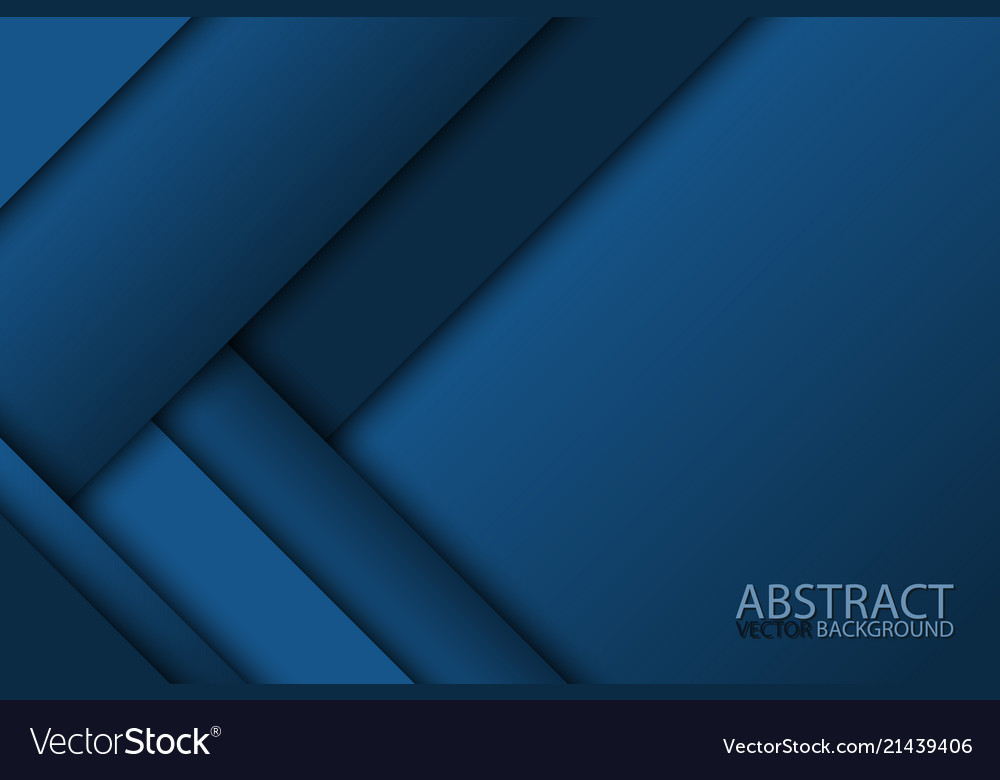 Blue modern material design abstract widescreen