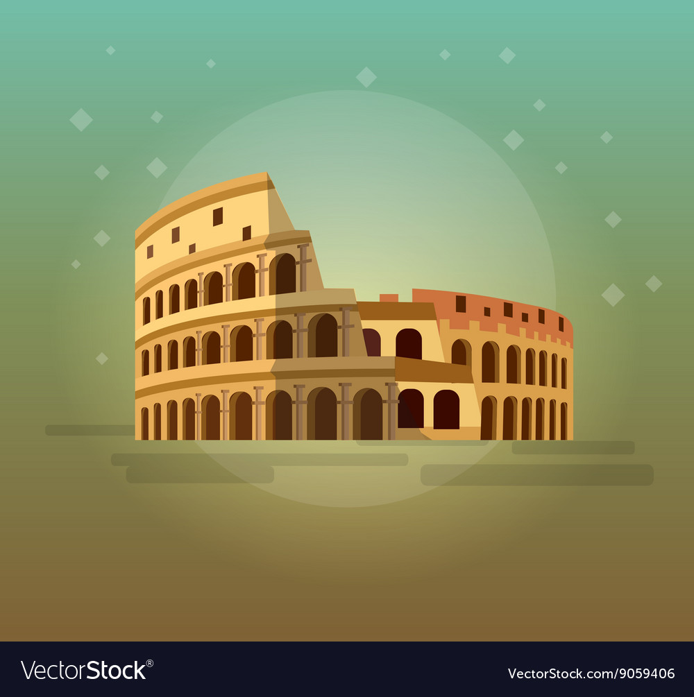 Coliseum in Rome Italy Colosseum