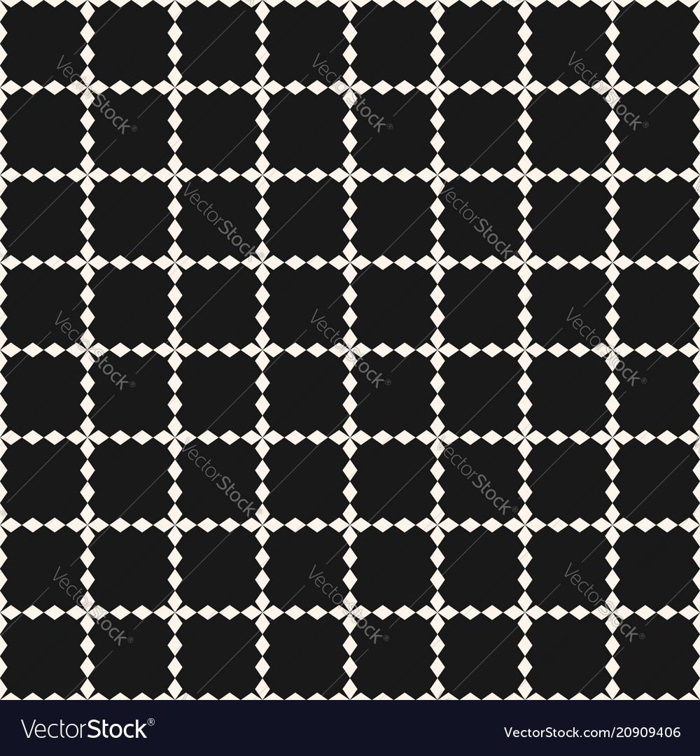 Grid seamless pattern geometric texture square