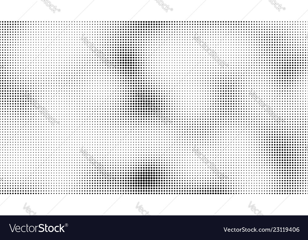 Halftone dots background overlay pattern vector