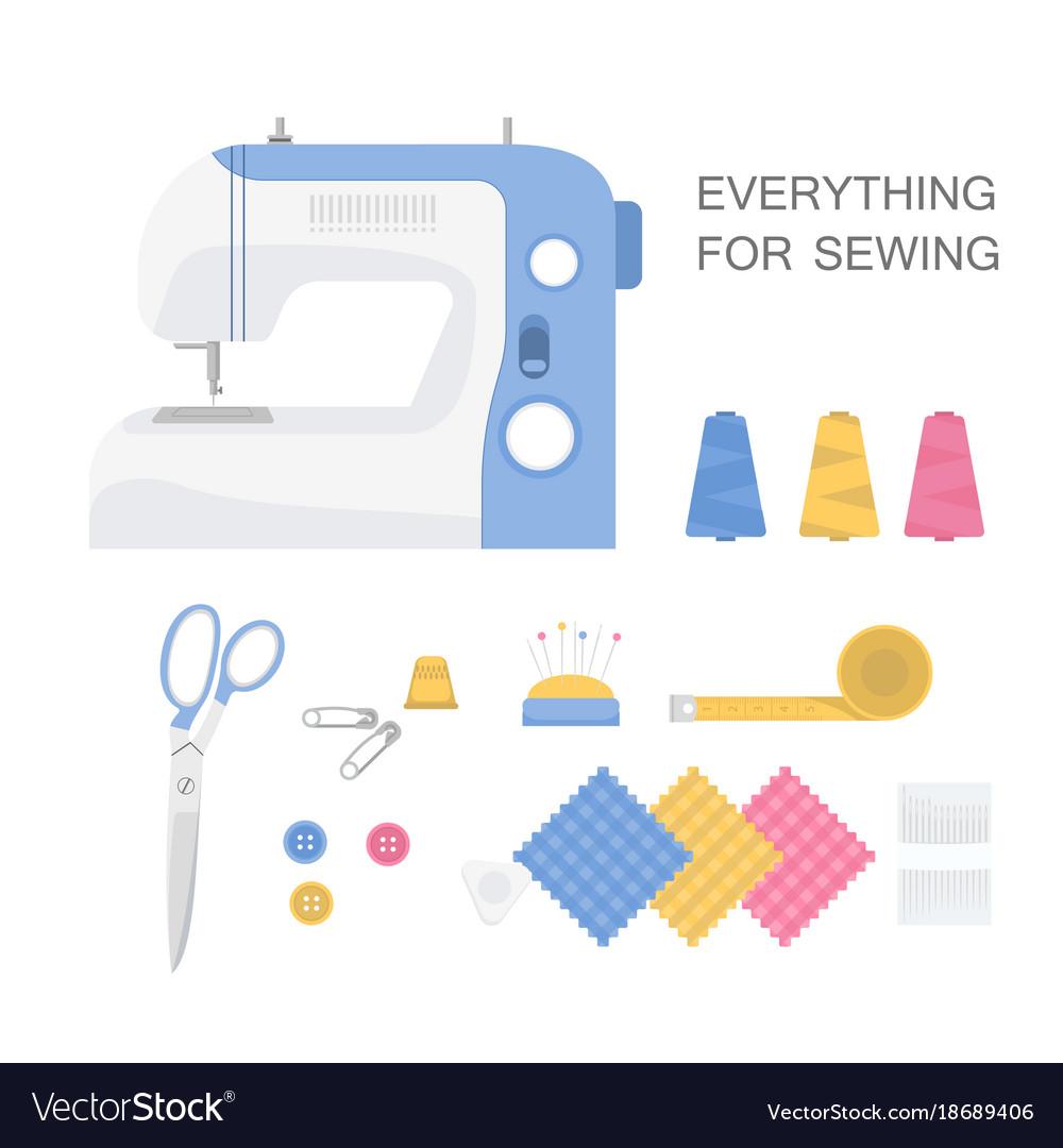 Set of sewing tools