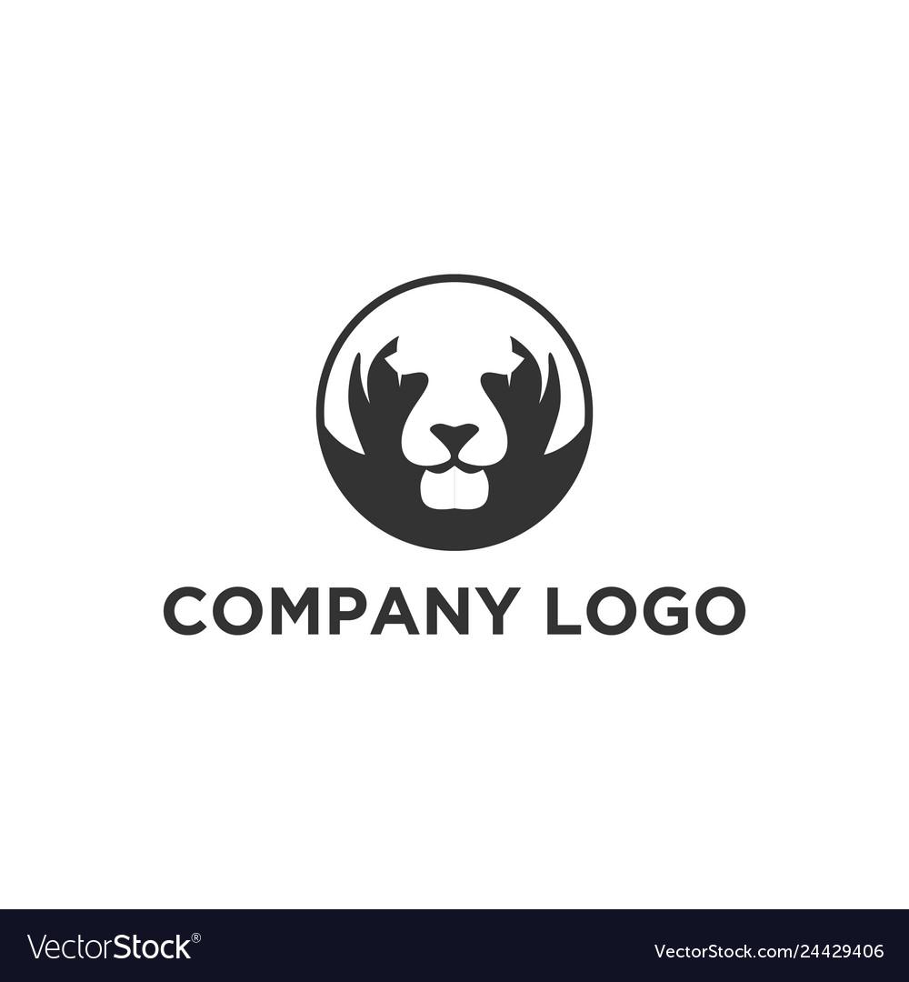 Tiger face logo designs