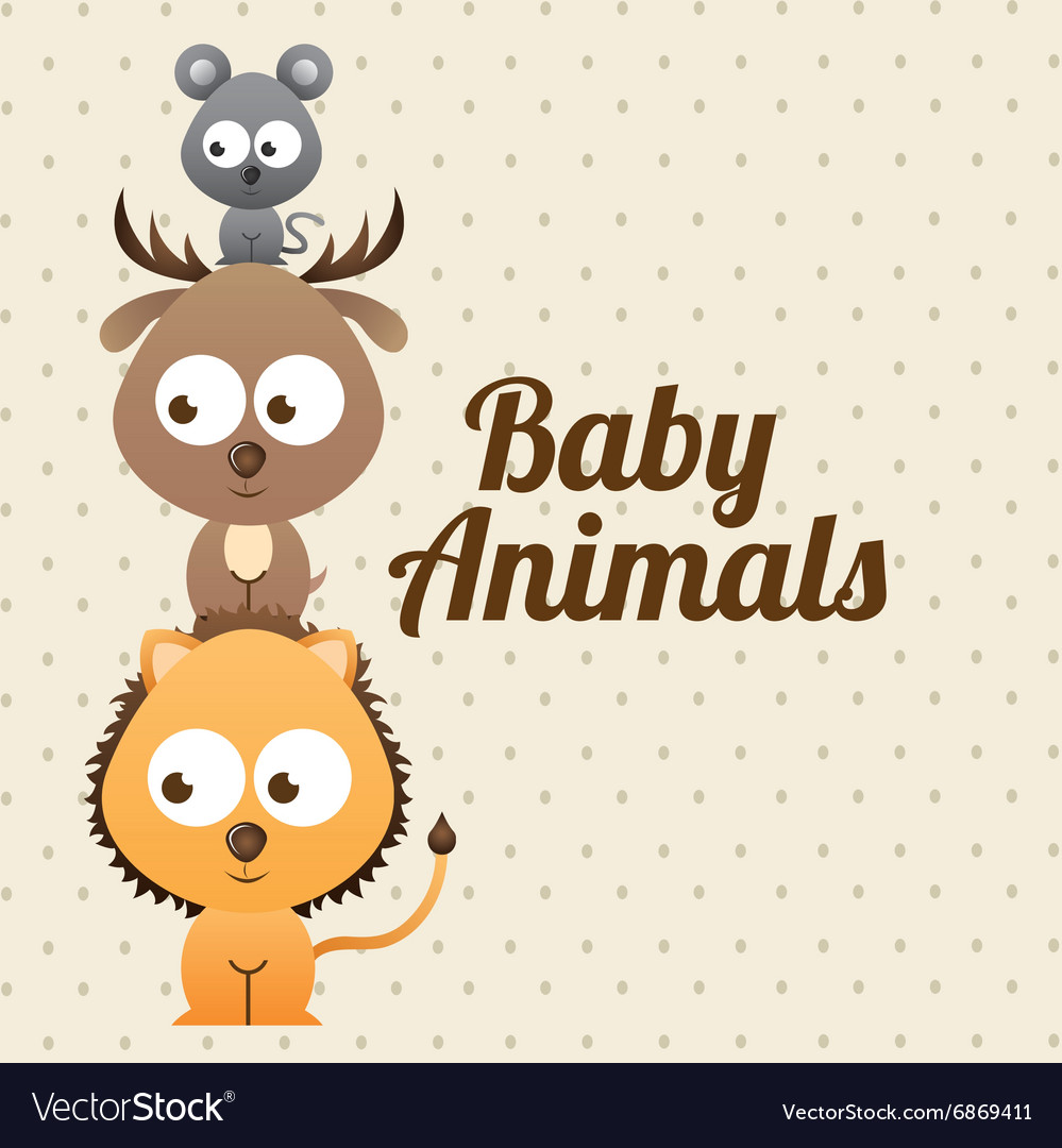 Baby animals design
