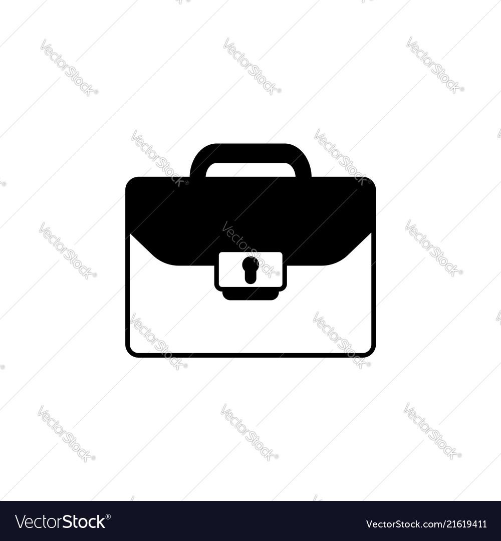 Briefcase icon black