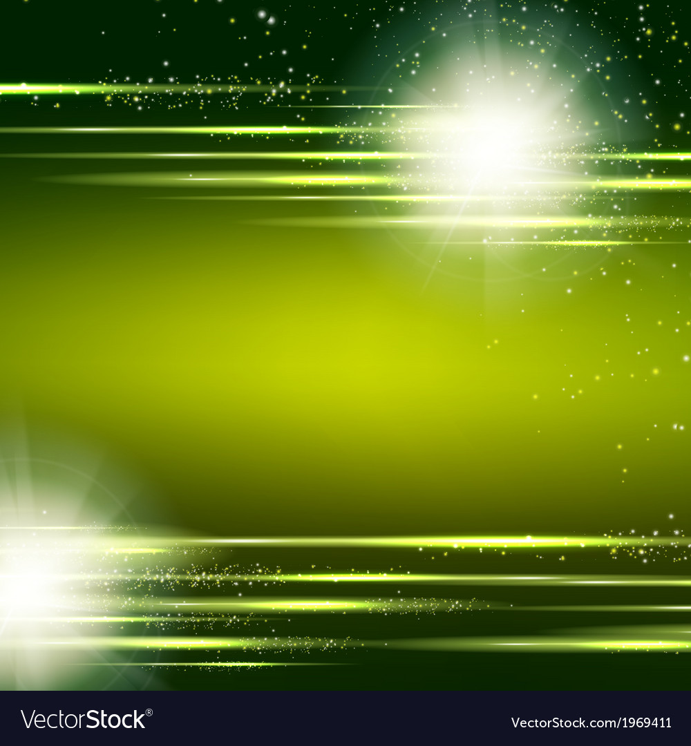 Dark green background with light effect Royalty Free Vector