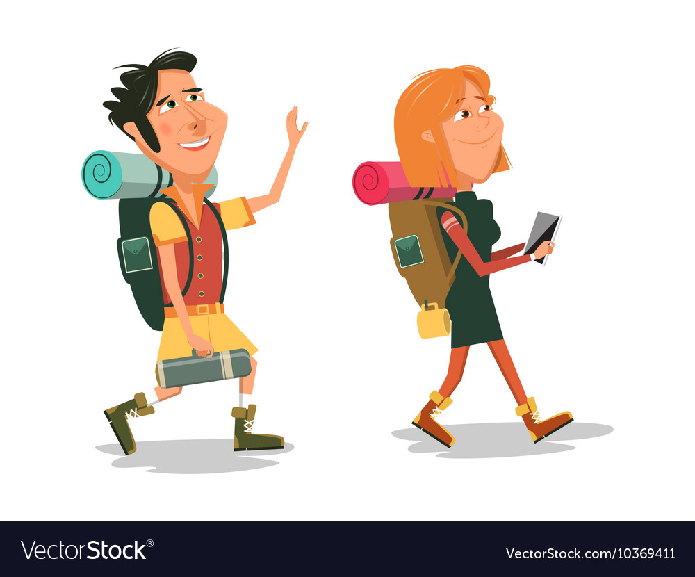 Hiking Pictures Cartoon