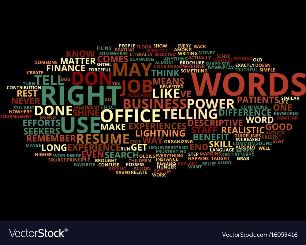 Power words how right language can