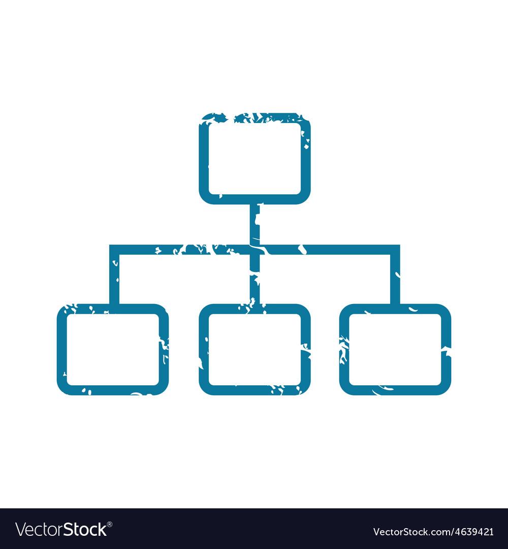 Grunge scheme icon