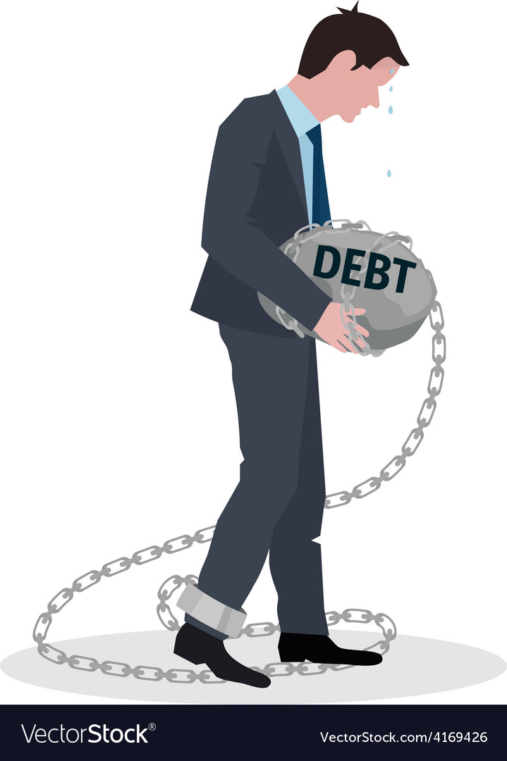 Business Debt Concept