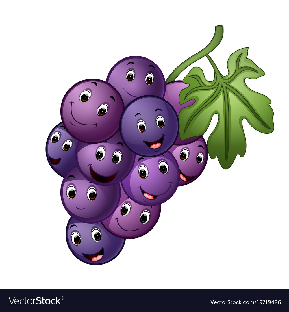 Grape with different face