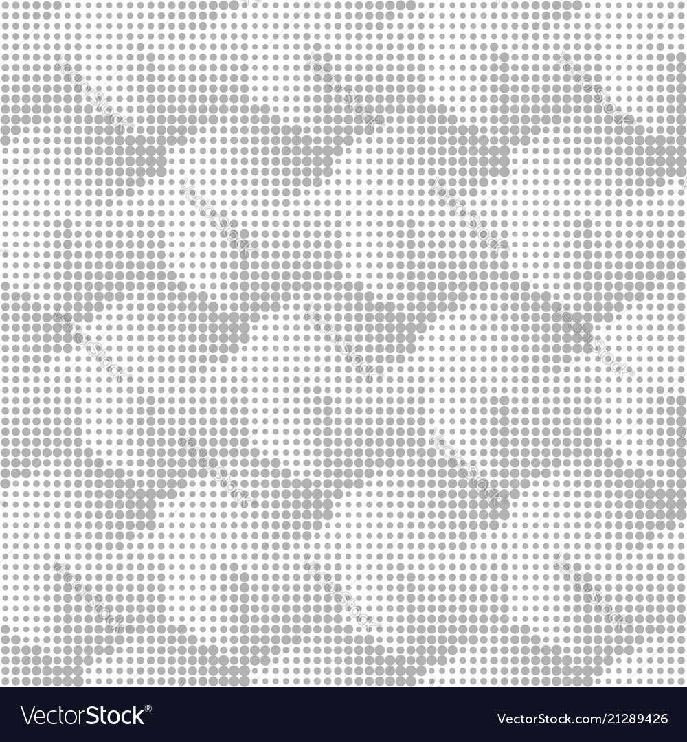 Halftone geometric seamless abstract background