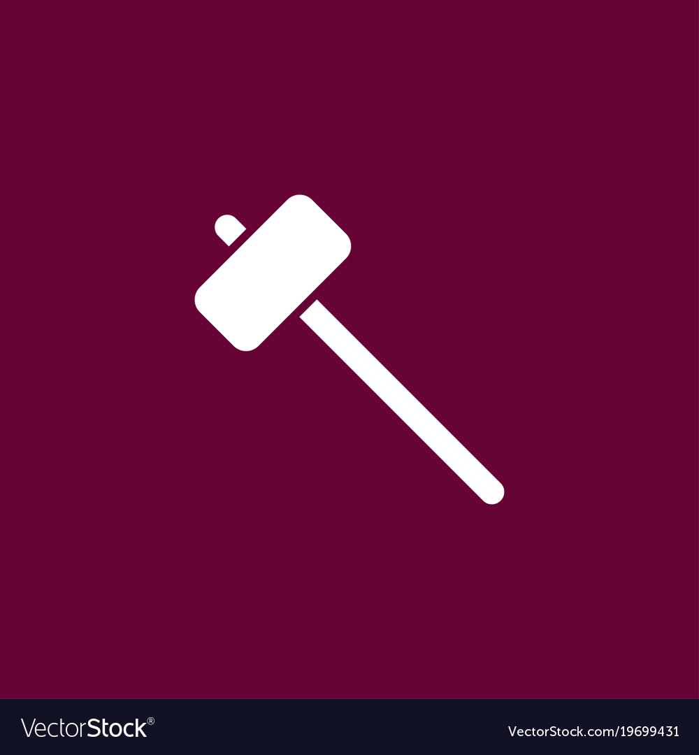 Sledgehammer icon simple