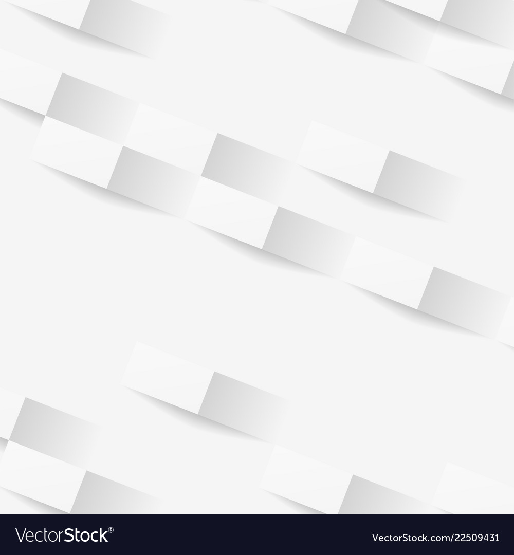White geometric texture abstract background