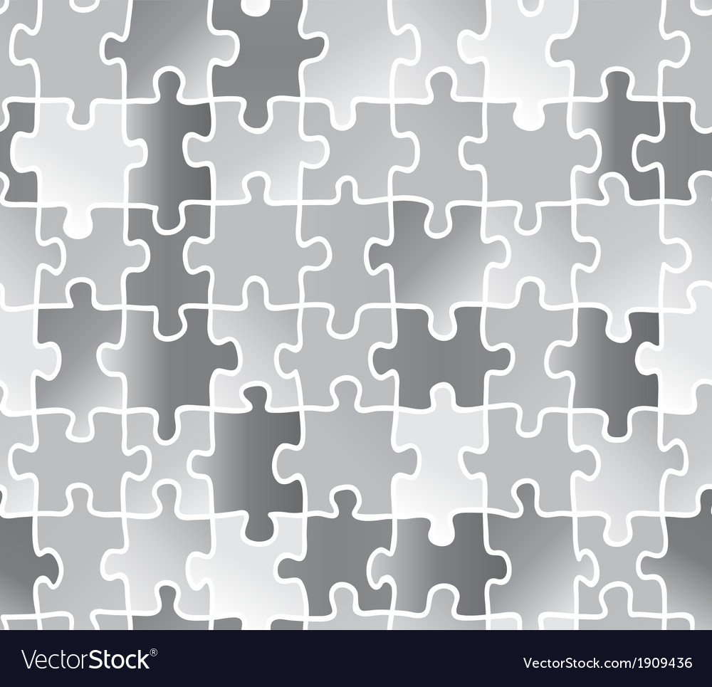 Abstract texture puzzle silver gray color