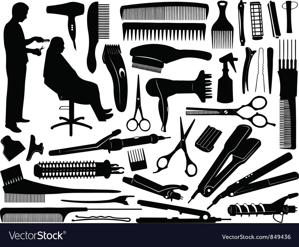 Hair Accessories vector image