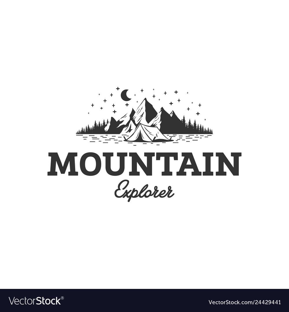 Mountain explorer logo designs