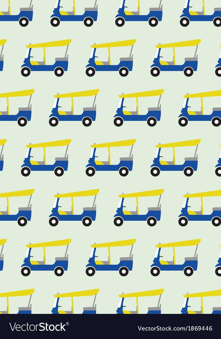 Taxi tuktuk pattern