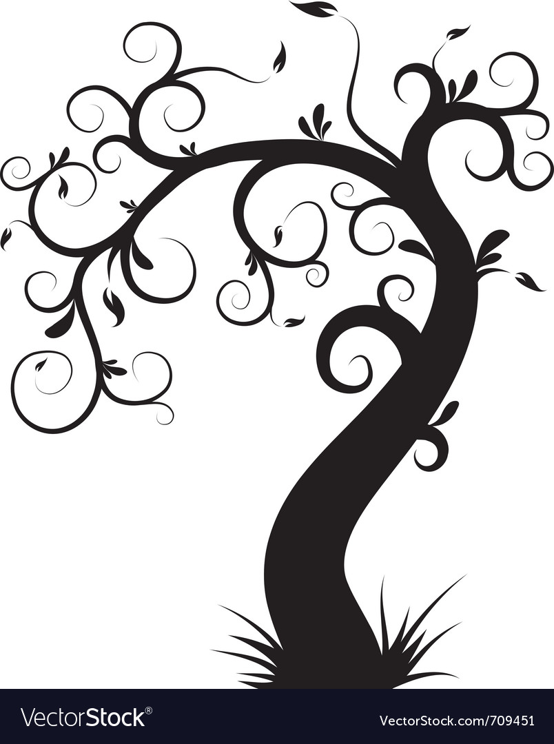 royalty free decorative decor vectorstock vector image tree
