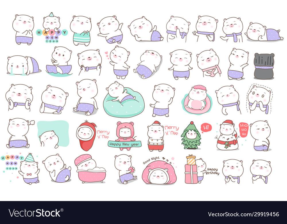 Cute baanimal cartoon for printingcard