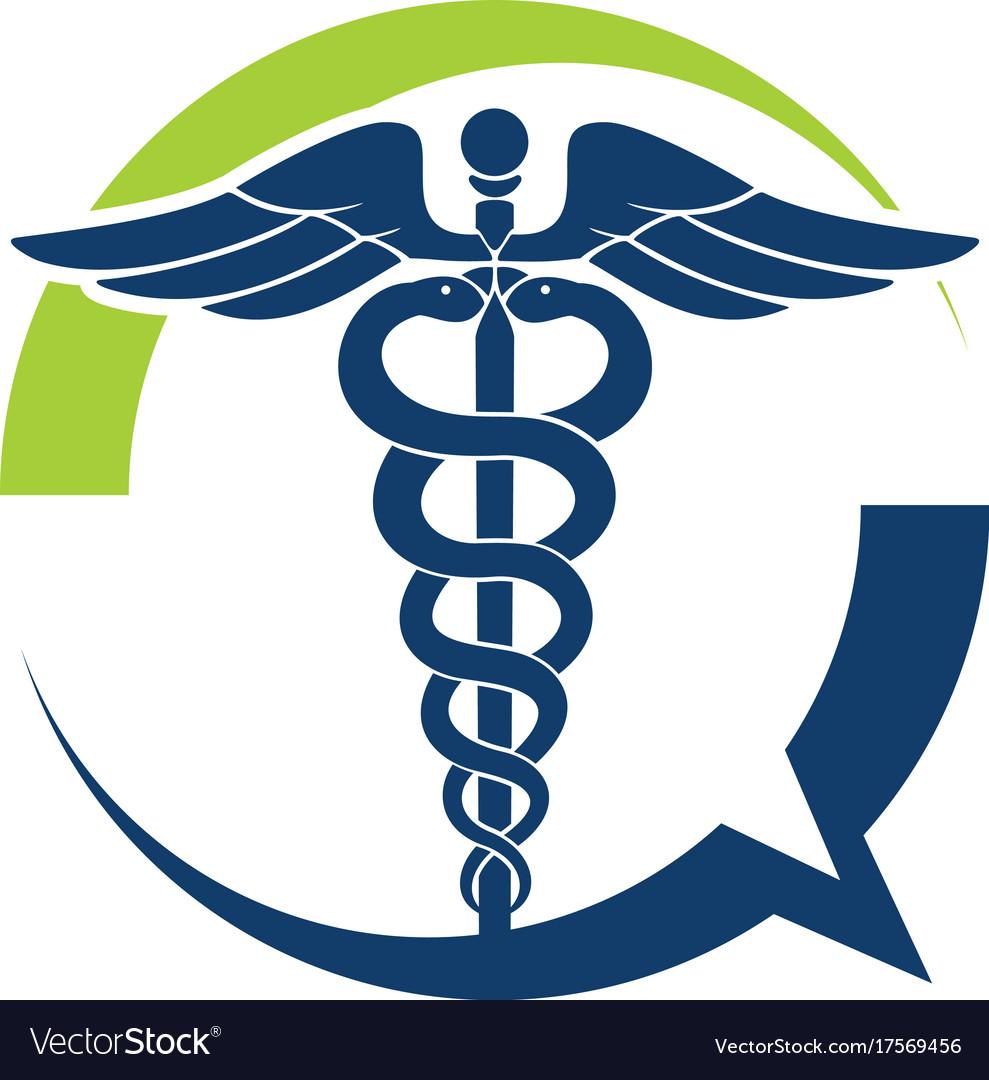 Medical talk vector image