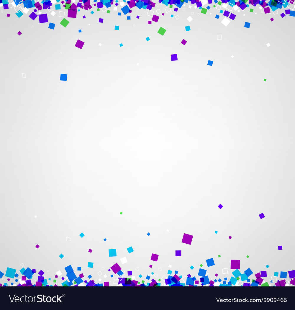 Background with colour squares vector image