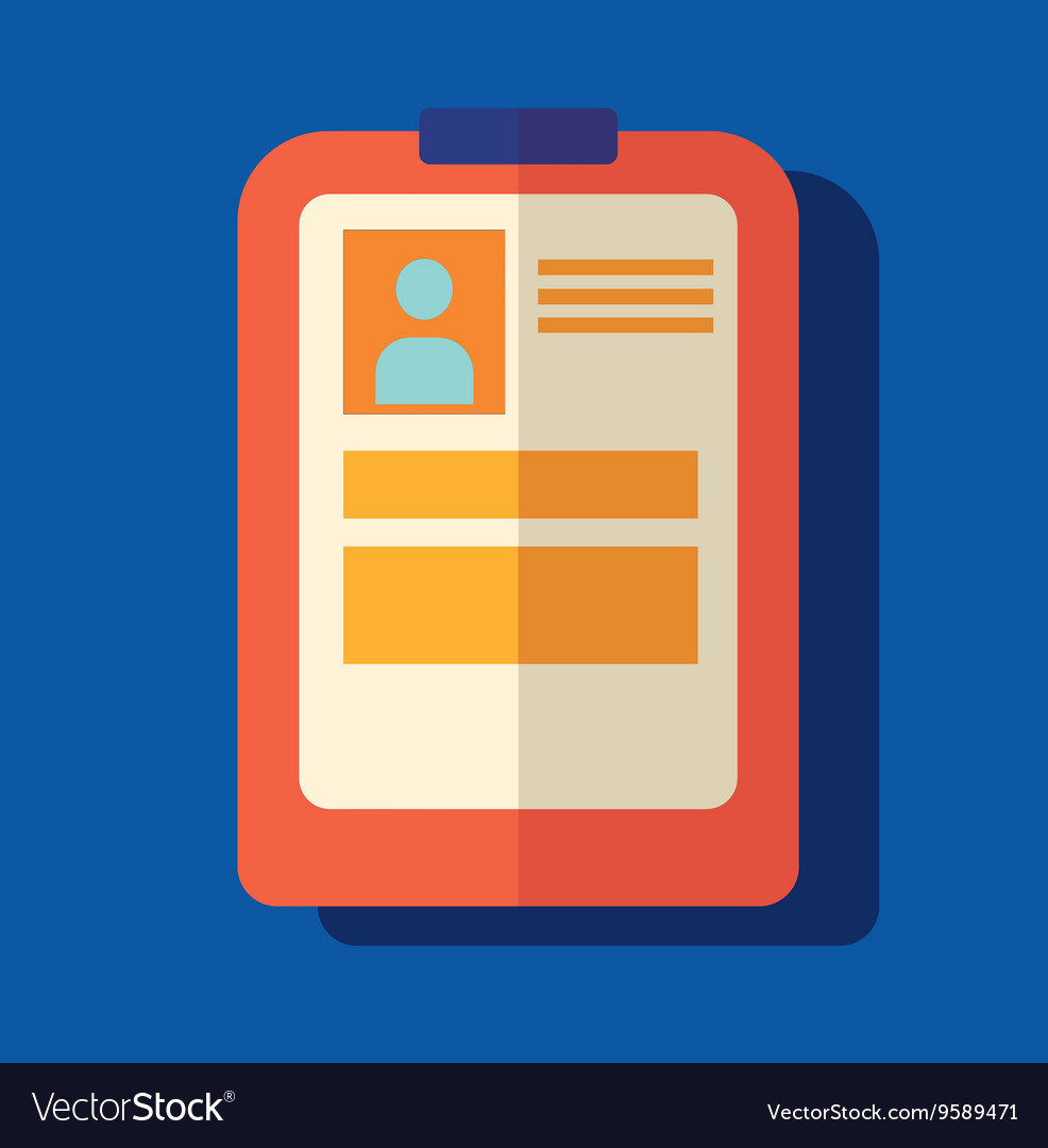 Medical report modern flat icon