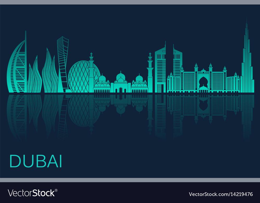 Dubai city stock