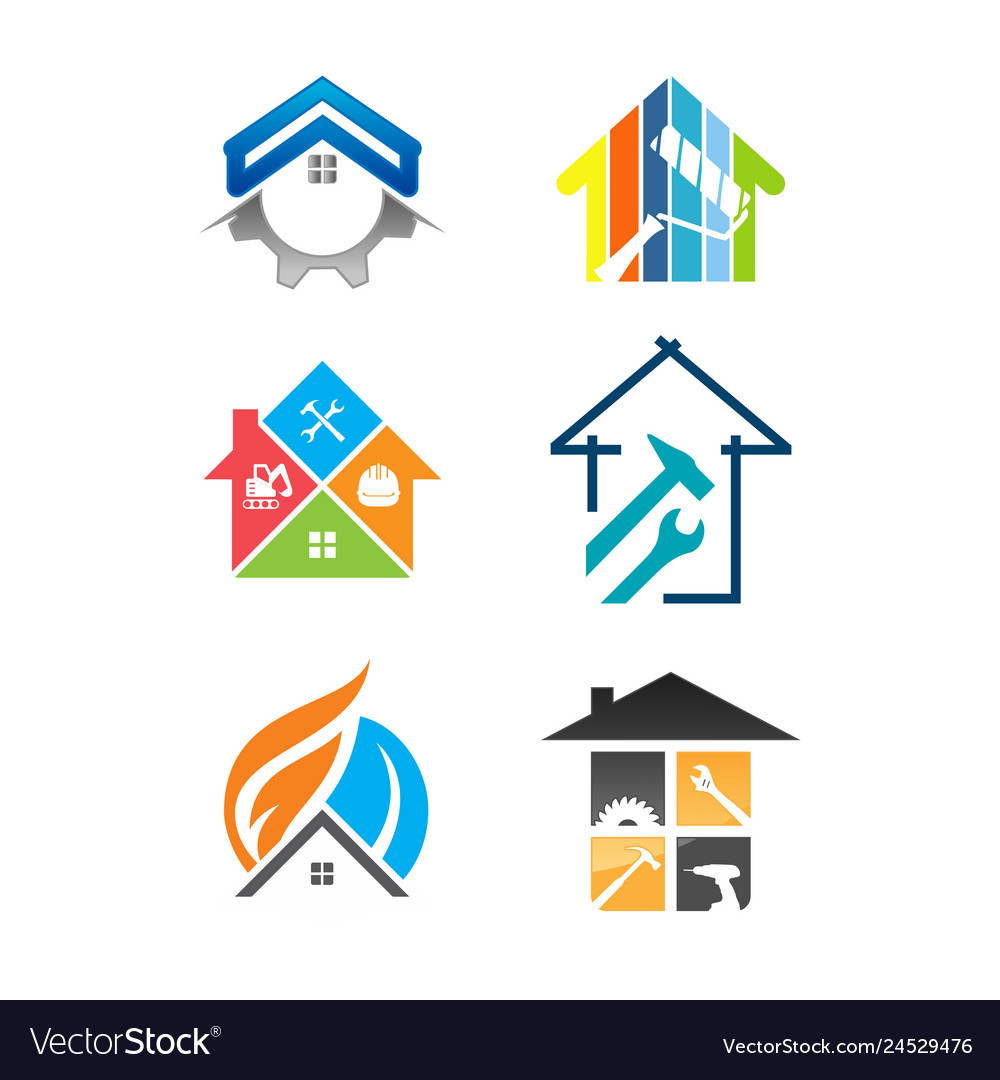House renovation service icon