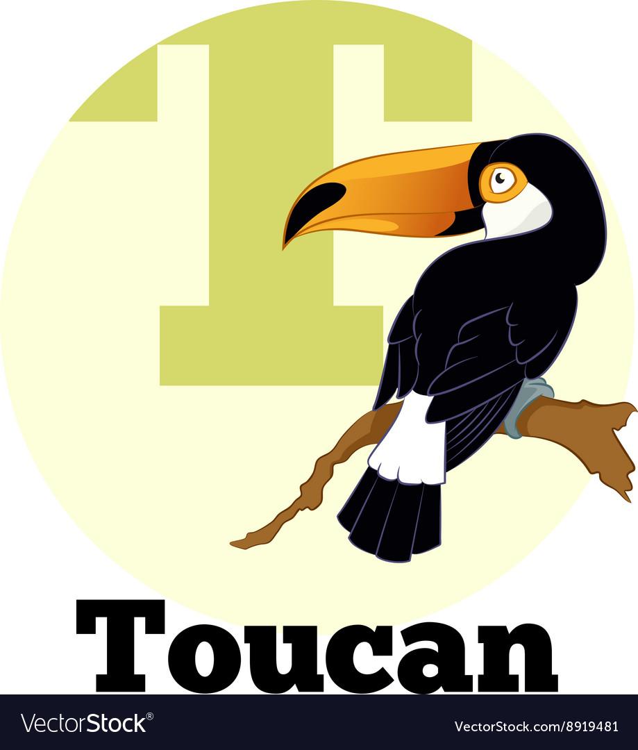 ABC Cartoon Toucan