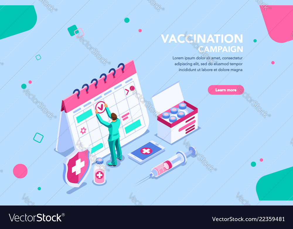 Campaign for vaccination day