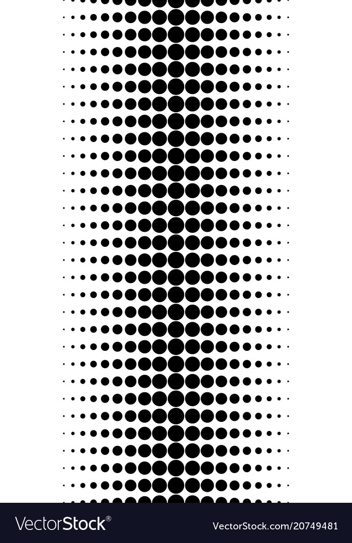 Pattern of halftone dots