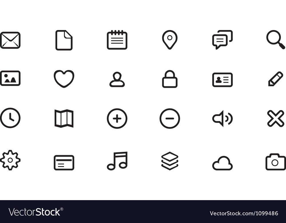 Icon for web design
