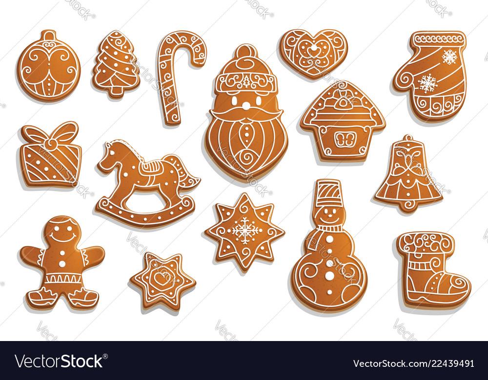 Gingerbread Cookies Christmas Holiday Food