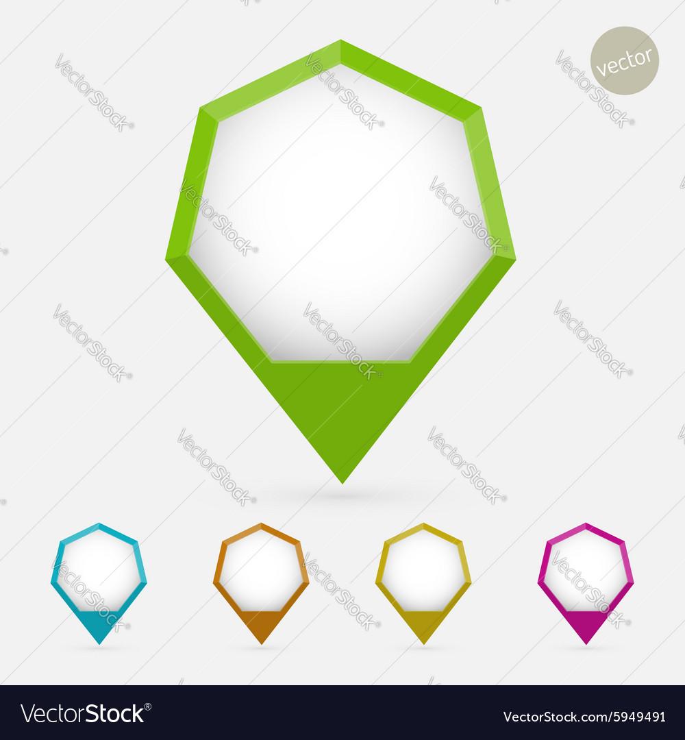 Hexagon pointer