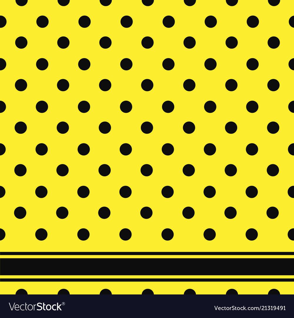 Seamless retro texture polka dots