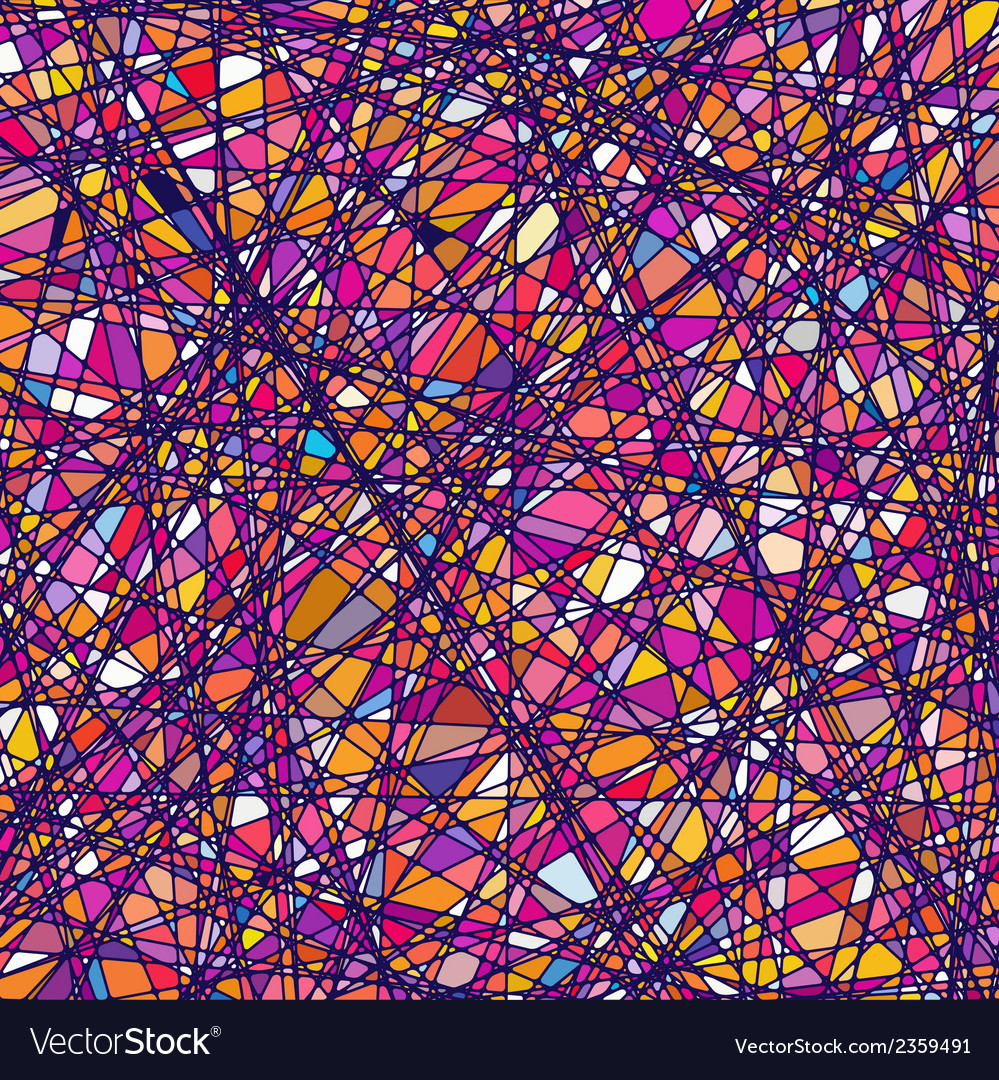 Stained Glass Texture In A Purple Tone EPS 8 Vector Image