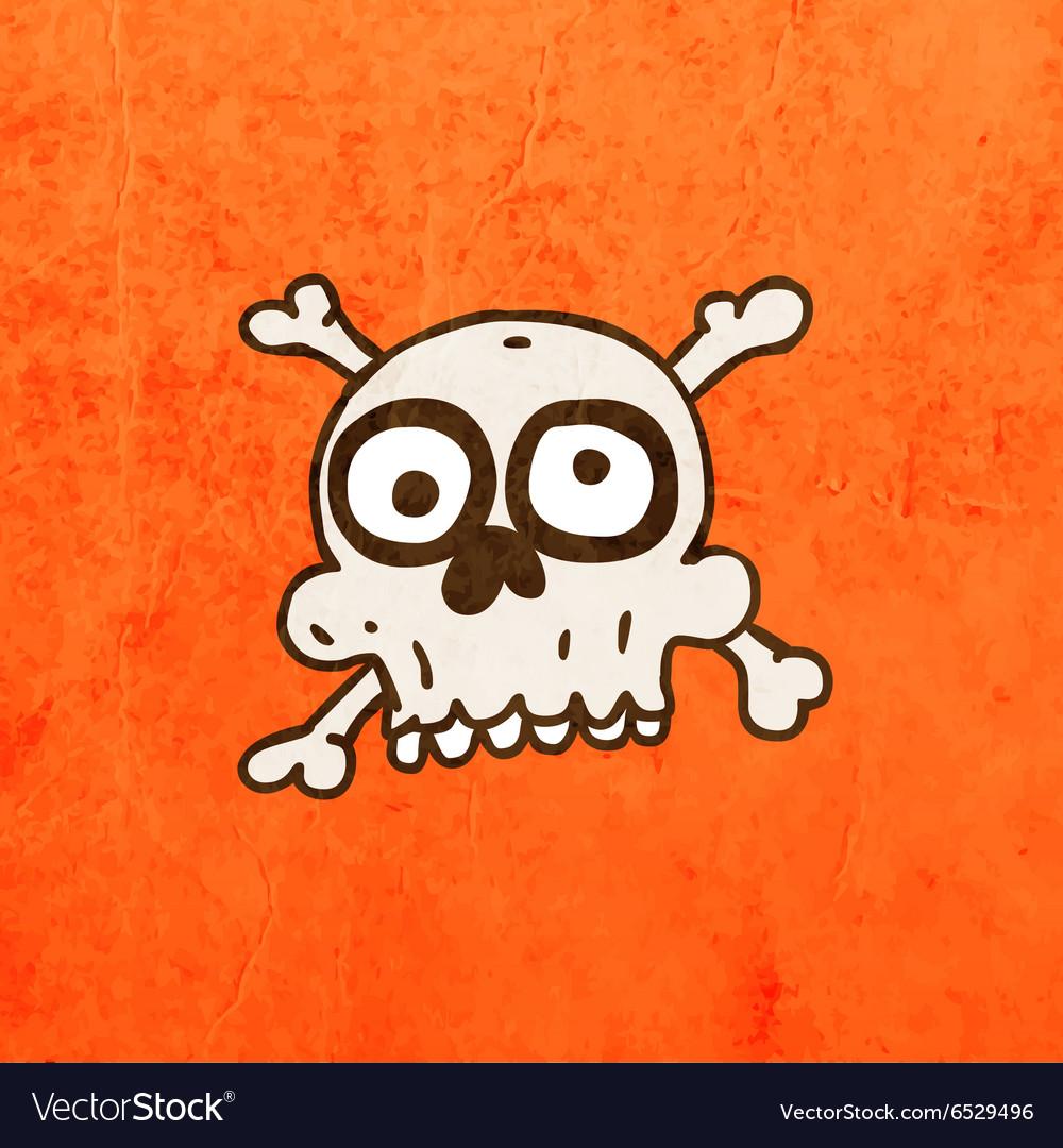 Skull and Bones Cartoon